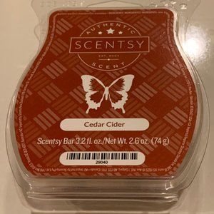 Scentsy Set of Four Bars: Fall/Winter Scents